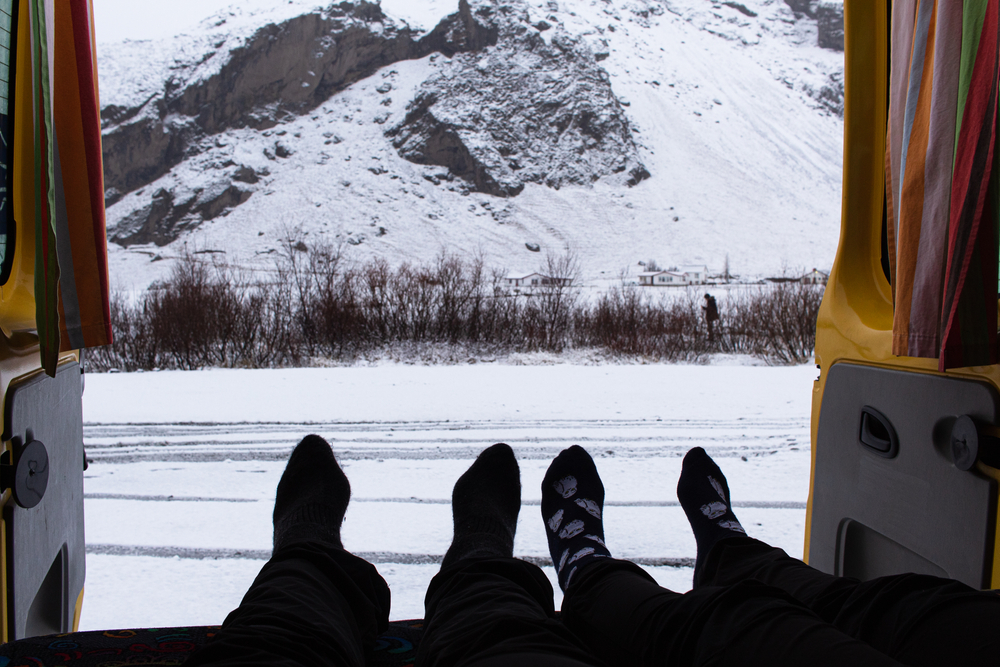 Louer un campervan en Islande